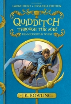 Cover for Quidditch Through the Ages by J. K. Rowling