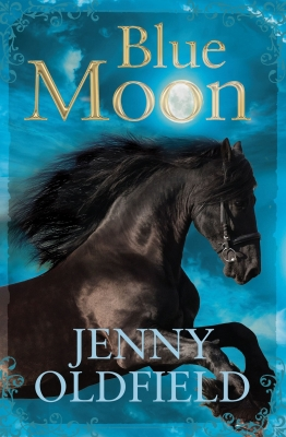 Cover for Blue Moon by Jenny Oldfield