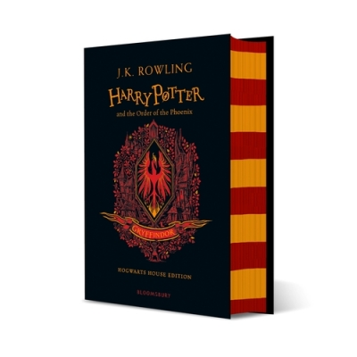 Cover for Harry Potter and the Order of the Phoenix – Gryffindor Edition by J.K. Rowling