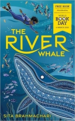 Cover for The River Whale: World Book Day 2021 by Sita Brahmachari