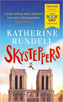 Cover for Skysteppers: World Book Day 2021 by Katherine Rundell