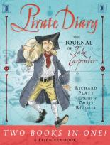 Cover for Pirate Diary/Castle Diary Flip-Over Book by Richard Platt