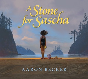Cover for A Stone for Sascha by Aaron Becker