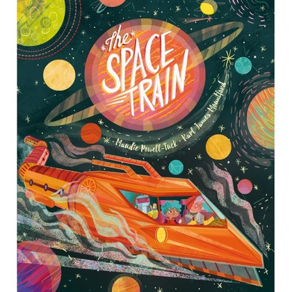 Book Cover for The Space Train by Maudie Powell-Tuck