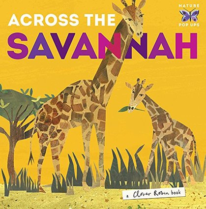 Cover for Across the Savannah by Libby Walden