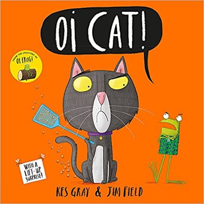 Cover for Oi Cat! by Kes Gray