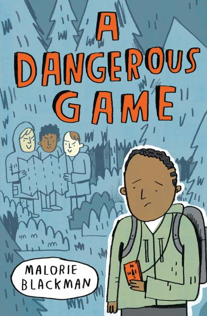 Book Cover for A Dangerous Game by Malorie Blackman