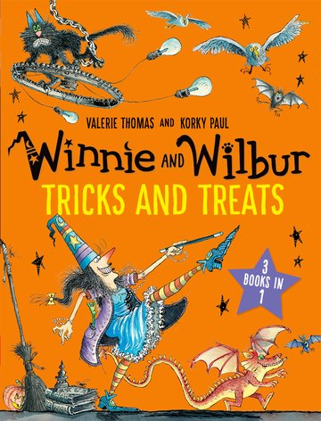 Cover for Winnie and Wilbur: Tricks and Treats by Valerie Thomas