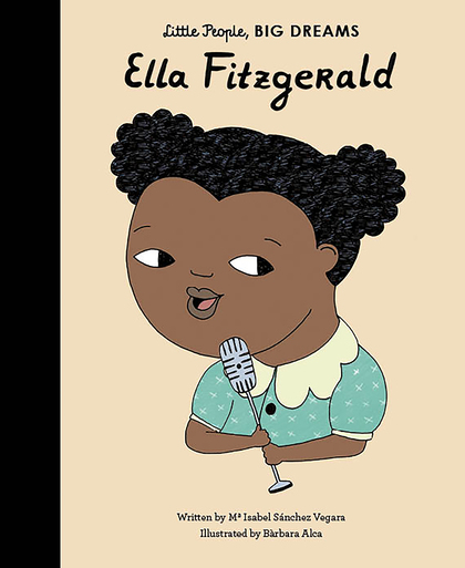 Book Cover for Ella Fitzgerald by Isabel Sanchez Vegara