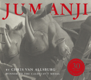 Cover for Jumanji by Chris Van Allsburg