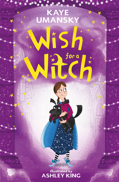 Cover for Wish for a Witch by Kaye Umansky