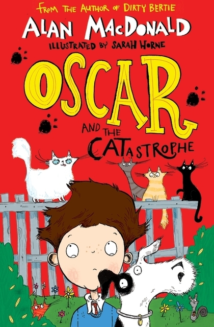 Cover for Oscar and the CATastrophe by Alan MacDonald