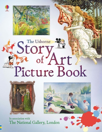Cover for Story of Art Picture Book by Sarah Courtauld