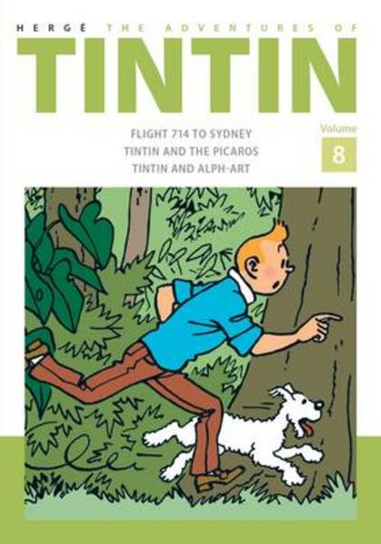 Cover for The Adventures of Tintin: Vol 8  by Herge