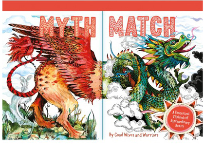 Cover for Myth Match by Good Wives and Warriors