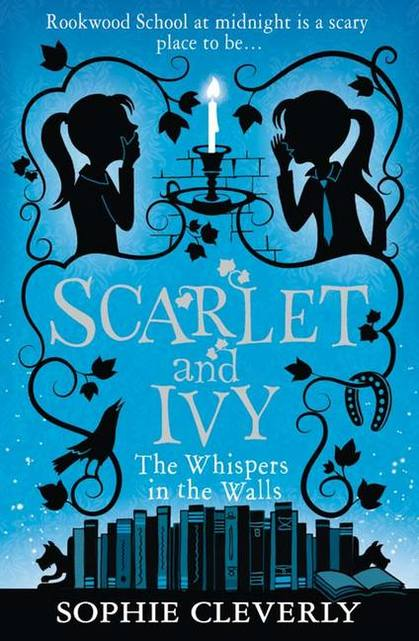 Cover for The Whispers in the Walls by Sophie Cleverly