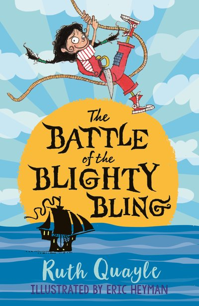 Cover for The Battle of the Blighty Bling by Ruth Quayle