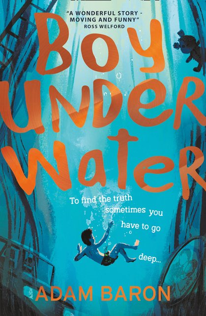 Cover for Boy Underwater by Adam Baron