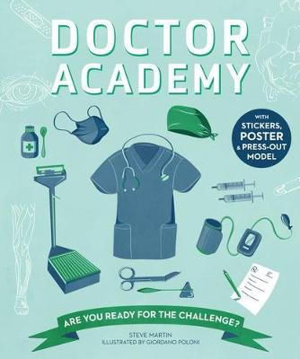 Cover for Doctor Academy by Steve Martin