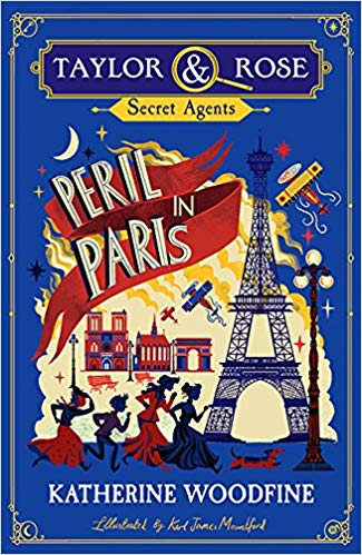 Cover for Peril in Paris by Katherine Woodfine
