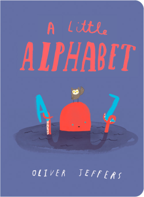 Cover for A Little Alphabet by Oliver Jeffers