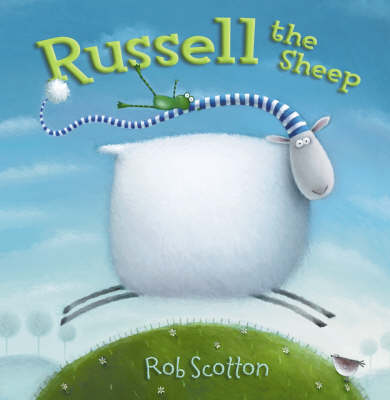 Cover for Russell the Sheep by Rob Scotton