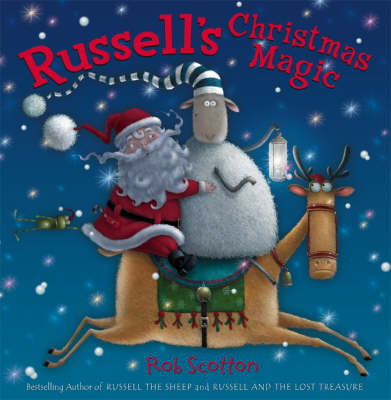 Cover for Russell's Christmas Magic by Rob Scotton