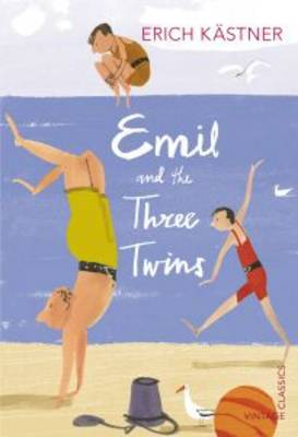 Cover for Emil and the Three Twins by Erich Kastner