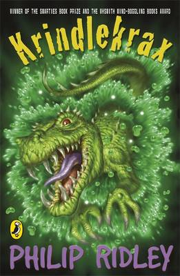 Cover for Krindlekrax by Philip Ridley