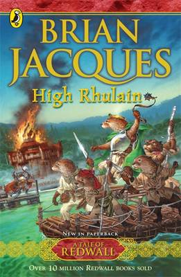 Cover for High Rhulain by Brian Jacques