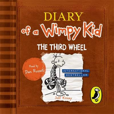 Diary Of A Wimpy Kid The Third Wheel By Jeff Kinney 9780141345901 Cd Audio Lovereading