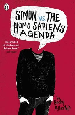 Cover for Simon vs the Homo Sapiens Agenda by Becky Albertalli