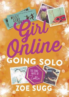 Cover for Girl Online: Going Solo by Zoe Sugg