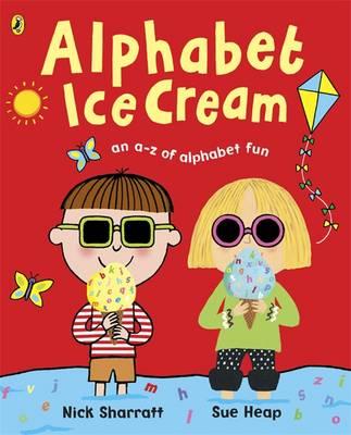 Cover for Alphabet Ice Cream by Sue Heap, Nick Sharratt