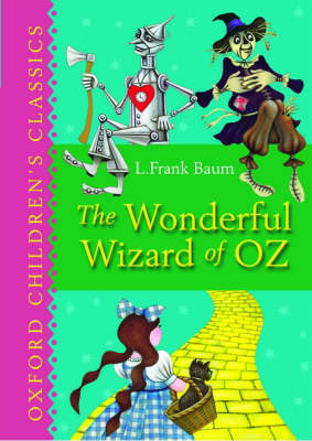 Cover for The Wonderful Wizard Of Oz by L  Frank Baum