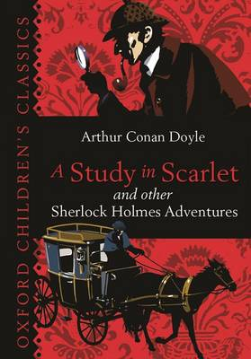 Cover for A Study in Scarlet & Other Sherlock Holmes Adventures by Sir Arthur Conan Doyle