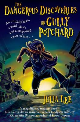 Cover for The Dangerous Discoveries of Gully Potchard by Julia Lee