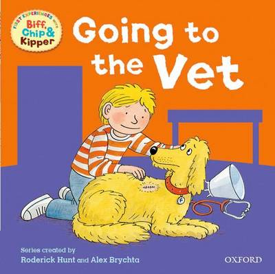 Cover for Read At Home: First Experiences: At The Vet by Roderick, Young, Annemarie Hunt