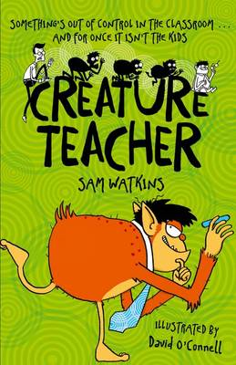 Cover for Creature Teacher by Sam Watkins