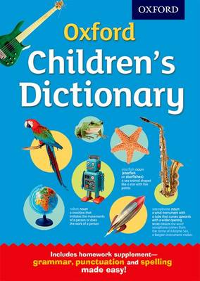 Cover for Oxford Children's Dictionary by Robert Allen