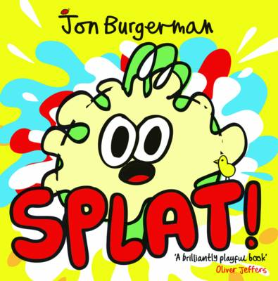 Cover for Splat! by Jon Burgerman