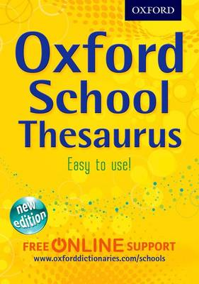 Cover for Oxford Pocket School Thesaurus by Robert Allen