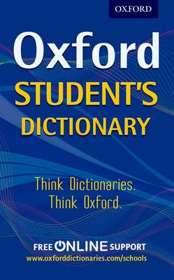 Cover for Oxford Student's Dictionary by Oxford Dictionaries