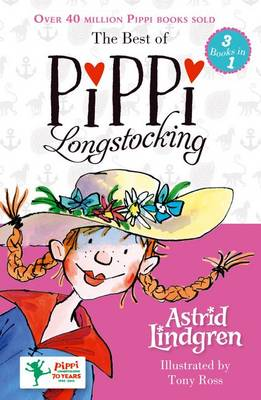 Cover for The Best of Pippi Longstocking (3 Books in 1) by Astrid Lindgren