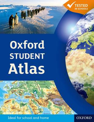 Cover for Oxford Student Atlas by Patrick Wiegand