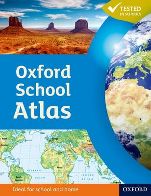 Cover for Oxford School Atlas by Patrick Wiegand