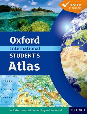 Cover for Oxford International Students Atlas by Patrick Wiegand