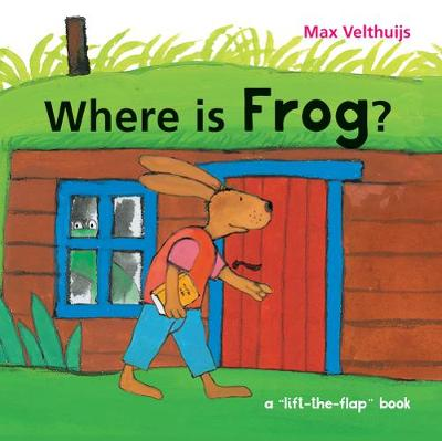 Cover for Where is Frog? by Max Velthuijs