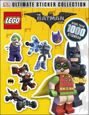 Cover for The LEGO Batman Movie Ultimate Sticker Collection by DK