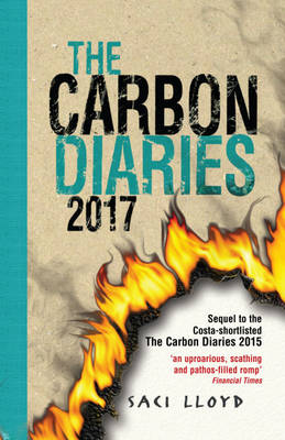 Cover for The Carbon Diaries 2017 by Saci Lloyd